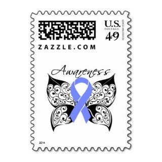 Tattoo Butterfly Awareness   Stomach Cancer Stamps