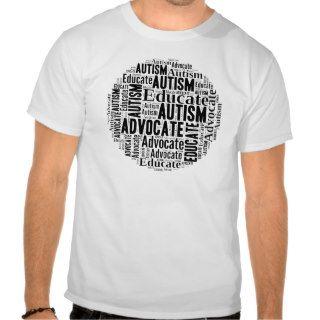 Autism Awareness Circle Design GoTeamKate Tshirt