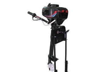 3.5 HP Outboard Motor Two Stroke Boat Engine Water Cooled  Sports & Outdoors