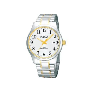 Pulsar Mens Two Tone Watch