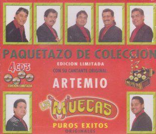 """Los Muecas """"Paquetazo De Coleccion Puros Exitos"""" 100 Anos De Musica Music"""
