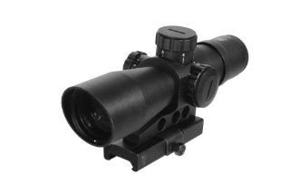 NcStar 4X 32mm Mil Dot Reticle Mark III Tactical Series Scope, Black  Sports  Sports & Outdoors