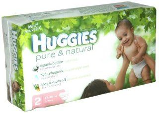 Baby/Infant/Child/Kid Huggies Pure & Natural Diapers, Size 2 (12 18 lb), Disney Baby, Jumbo, 30 ct. Newborn Gear  Childrens Home Safety Products  Baby