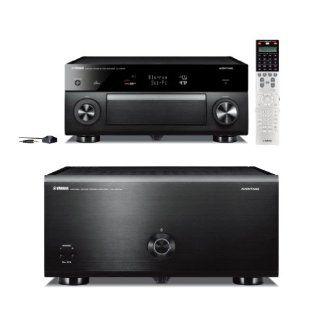 Yamaha CX A5000 AVENTAGE Series 11.2 Channel AV Pre Amplifier and MX A5000 11 Channel Power Amplifier Bundle Electronics