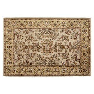 Eastland Total Performance Area Rug   Brown with Light Green, 6' x 9'   Frontgate   Hand Tufted Rugs