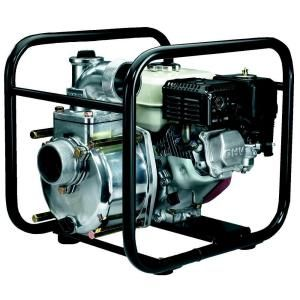 Koshin 3 in. 4.8 HP Semi Trash Pump with Honda Engine STH 80X