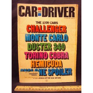 1969 69 October Car and Driver Magazine (Features: Road Test on Alfa Romeo 1750 Duetto Spier and GTV, + Mini Test on Plymouth Barracuda, Ford Torino GT, Oldesmobile 4 4 2 / 442, Plymouth Duster 340, Chevrolet Monte Carlo, & Buick Riviera): Car and Driv