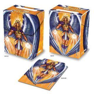 Ultra Pro Monte Manga Angel Gold Top loading Deck Box Toys & Games