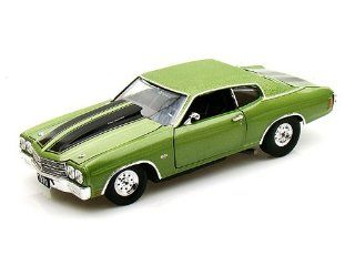 1970 Chevy Chevelle SS 454 Pro Street 1/24 Green: Toys & Games