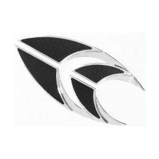 Carl Brouhard Designs Billet Aluminum Chrome Elite Edge Driver Floorboards for Harley 80 13 FLT FLHT FLHR FLTR (FB 0002 C) Automotive