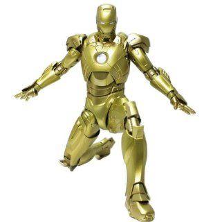 "Super Alloy 1/6 Scale 12"" Iron Man Mark VII 7 Gold,midas,88% Die cast Metal Toys & Games"