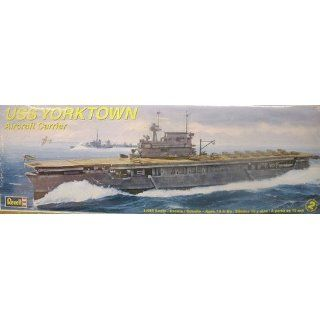 Revell 1485 USS Yorktown Aircraft Carrier Toys & Games