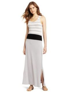 Design History Women's Stripe Colorblock Dress, Platinum Combo, X Small at  Women�s Clothing store