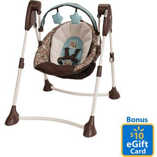 ... Graco Swing By Me Portable 2 In1 Swing, Little Hoot With Bonus $10  EGift Card ...