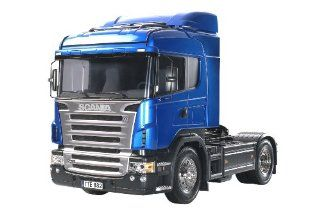 Tamiya 1/14 RC Scania R470 Highline Semi Truck Kit: Toys & Games