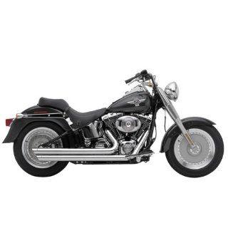Cobra Speedster Slashdown Chrome Exhaust System for 2012 Harley Davidson Softail Models Automotive