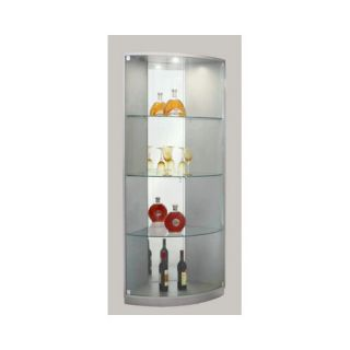... Chintaly Imports Corner Curio Cabinet Furniture ...