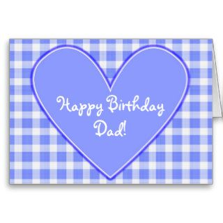 Happy Birthday Dad! Card