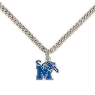 "Memphis Tigers Official NCAA 18"" Necklace by Wincraft  Sports Fan Necklaces  Sports & Outdoors"