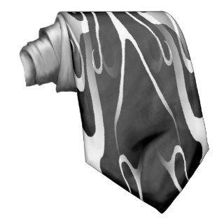 Elegance Tribal Tattoo Digital Collage Neckties