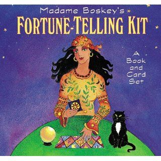 Madame Bosky's Fortune Telling Kit: A Book and Card Set: Kirsten Hall, Amy Christensen, Dana Cooper: 9780811814607: Books