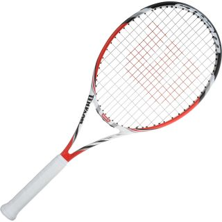 WILSON Adult Steam 105S Tennis Racket   Size: 4 3/8 Inch (3)105 Head S,