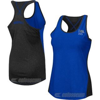 COLOSSEUM Womens Memphis Tigers Bristol Tank   Size: Xl, Blue/grey