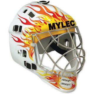 Mylec Ultra Pro II Goalie Flame Mask (128F)
