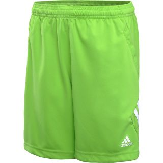 adidas Boys Predator Style Training Shorts   Size Xsmallyouth, Ray Green/lead