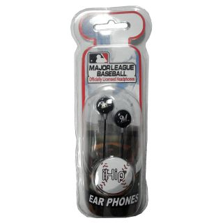 iHip Milwaukee Brewers Logo Earbuds (HPBBMILEBM)