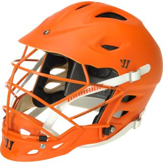 WARRIOR TII Matte Lacrosse Helmet, Orange