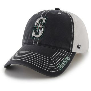47 BRAND Mens Seattle Mariners Ripley Stretch Fit Cap