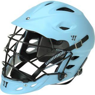 WARRIOR TII Matte Lacrosse Helmet, Carolina Blue