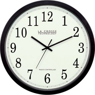 La Crosse Technology WT 3143A Plastic 14 Analog Atomic Clock (WT 3143A)