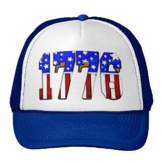 Día de la Independencia 1776 de los E.E.U.U. Gorro de