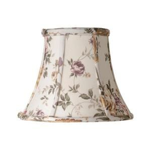 Laura Ashley Austen 7 in. Floral Bell Clip Shade SLL207