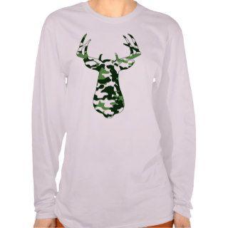 Deer Hunting Camo Buck Tee Shirt