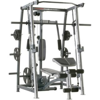 Weider Club C725 Rack and Bench Exercise & Fitness