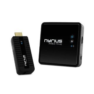 Nyrius ARIES Prime Digital Wireless HDMI Transmitter & Receiver System for HD 1080p 3D Video Streaming, Laptops, PC, Cablebox, Satellite, Blu ray, DVD, PS3, Xbox (NPCS549) Electronics