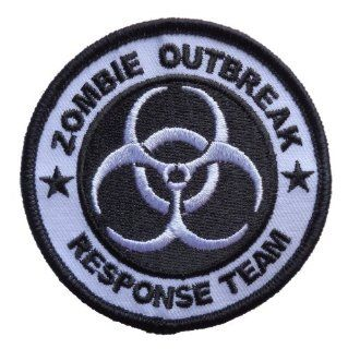 Zombie Outbreak Response Team Biohazard Logo Iron On Patch 3 inches: Everything Else