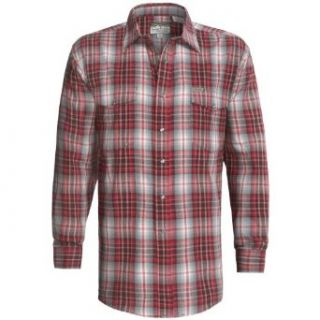 Powder River Outfitters Brushed Bandera Plaid Shirt Large Bright Red at  Men�s Clothing store: Button Down Shirts