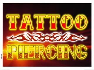 ADV PRO z559 Tattoo Piercing Shop Display NEW Banner Shop Sign   Prints