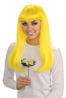 Rubie's Costume The Smurfs 2 Smurfette Wig, Yellow, One Size: Costume Accessories Costume Wigs: Clothing