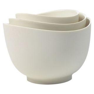 ISI 3 Piece Mixing Bowl Set   White