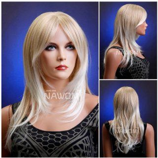 (WG ZL587 24BT613A) Long Straight Hair Wig, blond color. Toys & Games