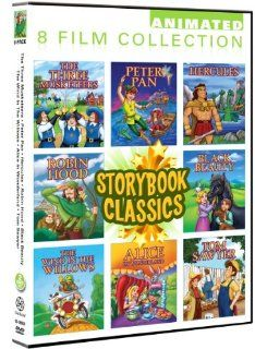 Storybook Classics 8 Pack Black Beauty, Peter Pan, Hercules, Robin Hood, Three Musketeers, Wind In The Willows, Alice In Wonderland, Tom Sawyer Phillip Hinton, Paul Johnstone, Olivia Martin, Moya O'Sullivan, Keith Scott, David Cherkasskiy Movies &am