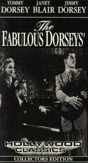 Fabulous Dorseys [VHS]: Tommy Dorsey, Jimmy Dorsey, Janet Blair, Paul Whiteman, William Lundigan, Sara Allgood, Arthur Shields, Dave Willock, William Bakewell, James Flavin, Charlie Barnet, Bob Eberly, James Van Trees, Alfred E. Green, George M. Arthur, Ch