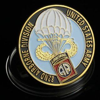 U.S Army 82nd Airborne Division Challenge Coin 641
