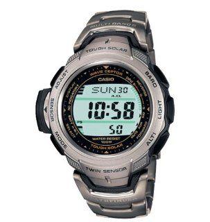 Casio Pathfinder Solar Atomic Watch #PAW500T 7V Casio Watches