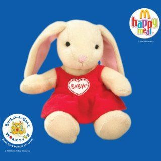 2006 McDonalds Happy Meal Toy Build A Bear Workshop #5 Pawlette Coufur In A Heart Dress MIP Toys & Games